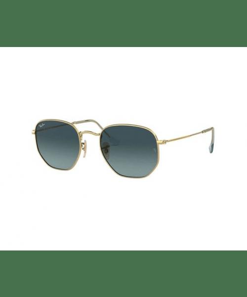 Óculos de Sol Ray-Ban Hexagonal RB3548NL - Dourado - 91233M  54